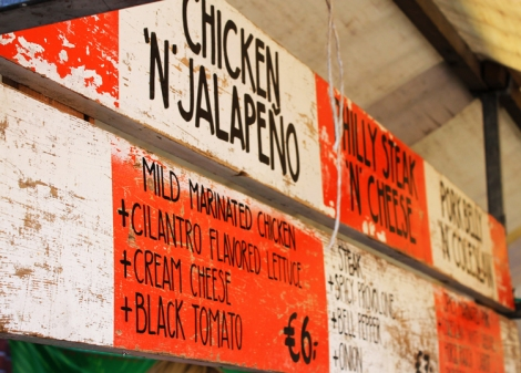 Stop! Voor o.a. een Chicken 'n' Jalapeno.