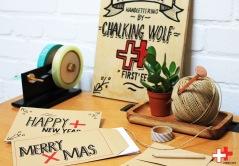 Stuur met de feestdagen je een zelf gemaakt kaartje naar familie en vrienden!