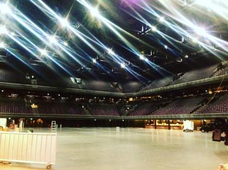 Backstage Ziggo Dome