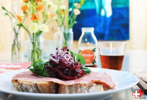 First Eet lunch Sandwich lamsham