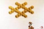 First Eet Cafe_expositie Milo losse mozaik